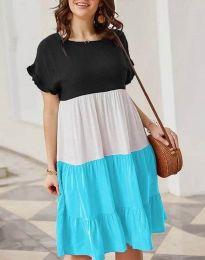 Šaty - kód 1039 - 4 - viacfarebné