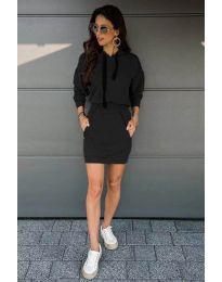 Šaty - kód 999 - čierná