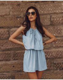 Šaty - kód 8399 - svetlo modrá