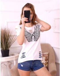 Tričko - kód 3567 - biela