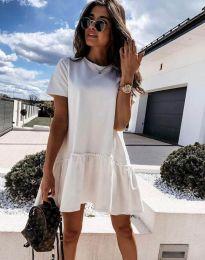 Šaty - kód 4465 - biela