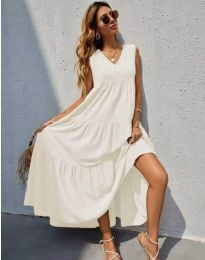 Šaty - kód 8149 - biela