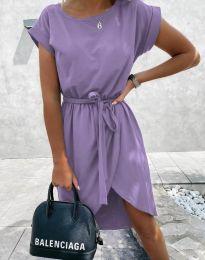 Šaty - kód 2074 - svetlo fialová
