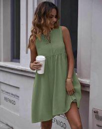 Šaty - kód 0286 - olivovo zelená