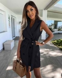 Šaty - kód 5503 - čierná