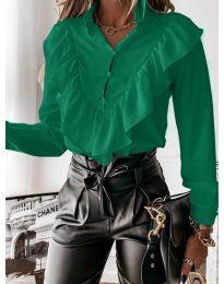 Košeľa - kód 9032 - zelená