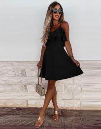 Šaty - kód 2739 - čierná