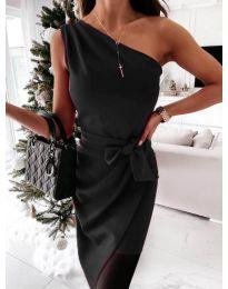 Šaty - kód 6442 - 2 - čierná
