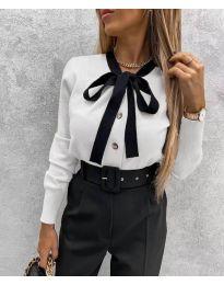 Košeľa - kód 3737 - biela