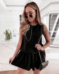 Šaty - kód 6612 - 1 - čierná
