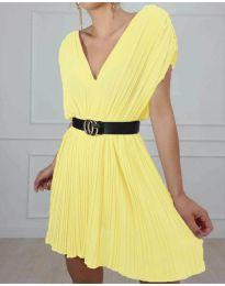 Šaty - kód 5670 - žltá