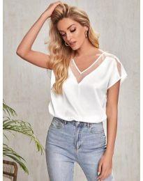 Tričko - kód 5754 - biela