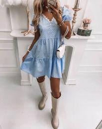 Šaty - kód 8292 - svetlo modrá