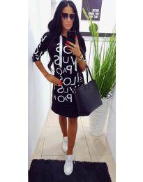 Šaty - kód 309 - čierná