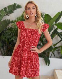 Šaty - kód 6525 - červená