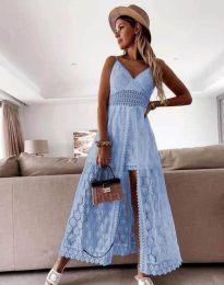 Šaty - kód 2704 - svetlo modrá