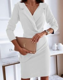 Šaty - kód 4159 - biela