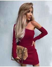 Šaty - kód 4933 - bordeaux