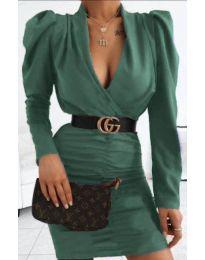 Šaty - kód 953 - tmavě zelená