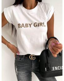 Tričko - kód 983 - biela