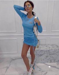 Šaty - kód 2286 - svetlo modrá