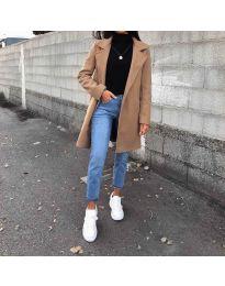 Kabát - kód 950 - hnedá
