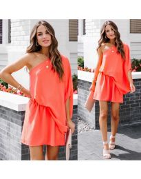Šaty - kód 9933 - оranžová