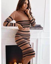 Šaty - kód 5980 - 4 - farebná