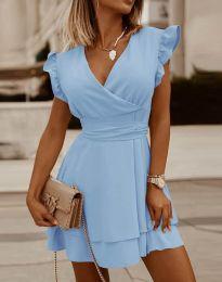 Šaty - kód 5654 - svetlo modrá