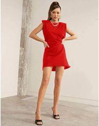 Šaty - kód 625 - červená