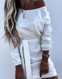 Šaty - kód 2409 - biela