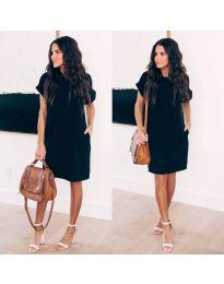 Šaty - kód 659 - čierná