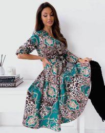 Šaty - kód 6027 - viacfarebné