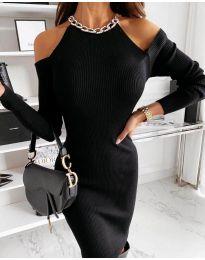 Šaty - kód 0300 - čierná