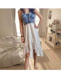 Šaty - kód 0717 - biela