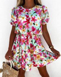Šaty - kód 6985 - viacfarebné