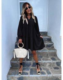 Šaty - kód 6643 - čierná