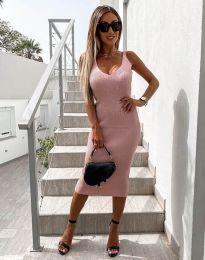 Šaty - kód 2960 - ružová