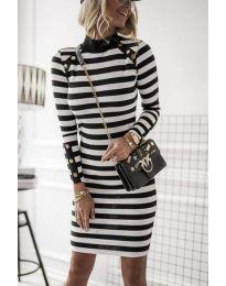 Šaty - kód 1573 - 1 - čierná