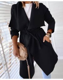 Kabát - kód 8778 - čierná