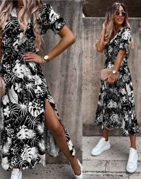 Šaty - kód 6212 - čierná