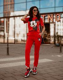 Športovná súprava - kód 581 - červená