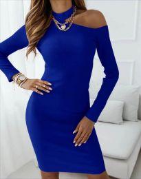 Šaty - kód 4859 - modrý