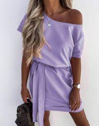 Šaty - kód 6737 - svetlo fialová