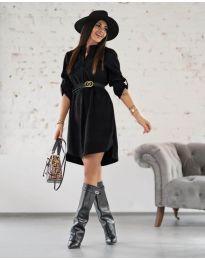 Šaty - kód 9601 - čierná
