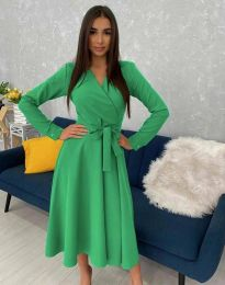 Šaty - kód 0576 - zelená