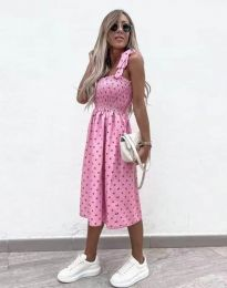 Šaty - kód 4535 - ružová