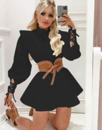 Šaty - kód 44589 - 1 - čierná