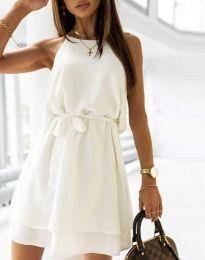 Šaty - kód 9968 - biela