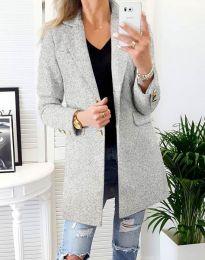 Kabát - kód 4679 - šedá